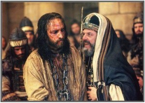Jesús ante Caifás