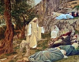 Los discíupulos duermen