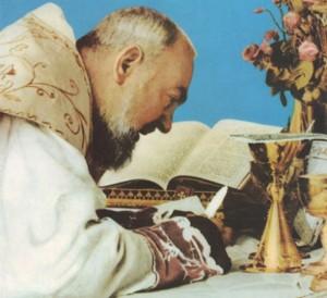 Padre Pio -Eucaristía-
