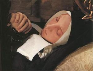 Santa Bernardita cuerpo incorrupto