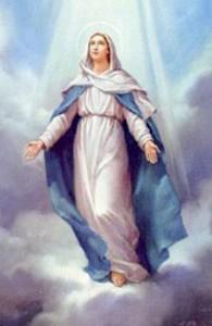 asunsión de la Virgen