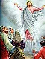 Ascención de Jesús al cielo