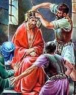 Jesús es coronado