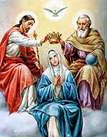 María coronada como Reina