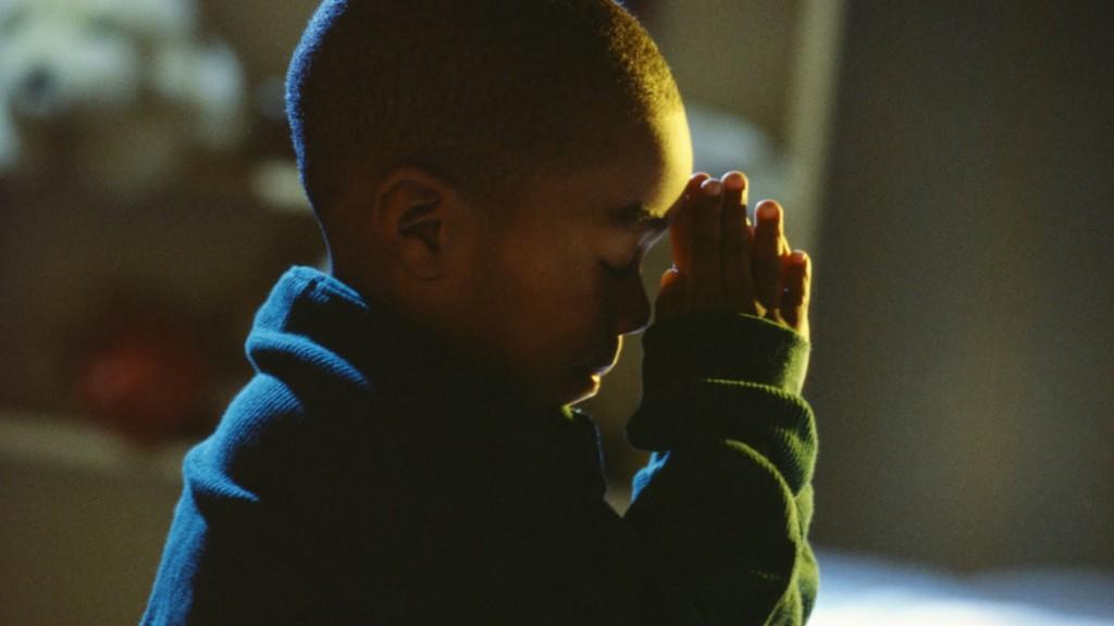 Niño orando 2