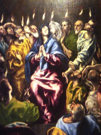 Pentecostés - El Greco