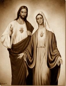 Cristo y María