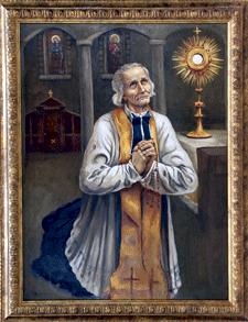 El Cura de Ars y la Eucaristía