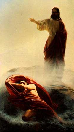 Jesús vence al demonio