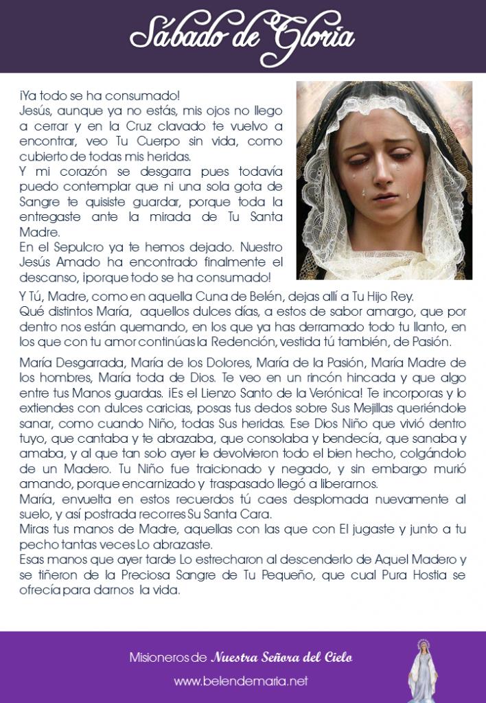 Sabado Santo 1  2015
