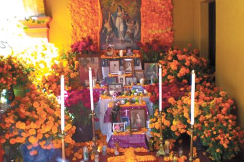 Altar de los difuntos
