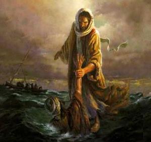 Pedro en la tormenta