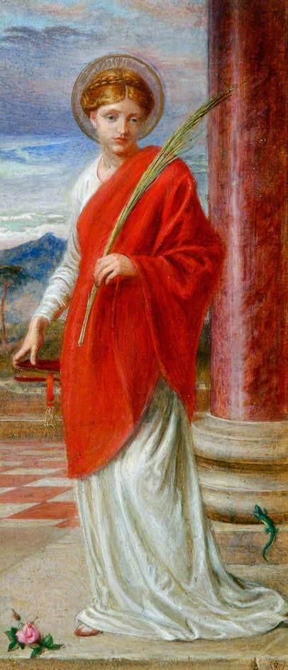 Santa Bibiana, mártir