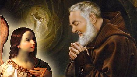 Padre Pio y los ángeles