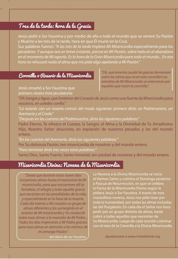 Novena Divina Misericordia (página 2)