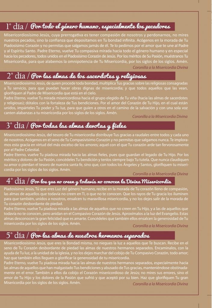 Novena Divina Misericordia (página 3)