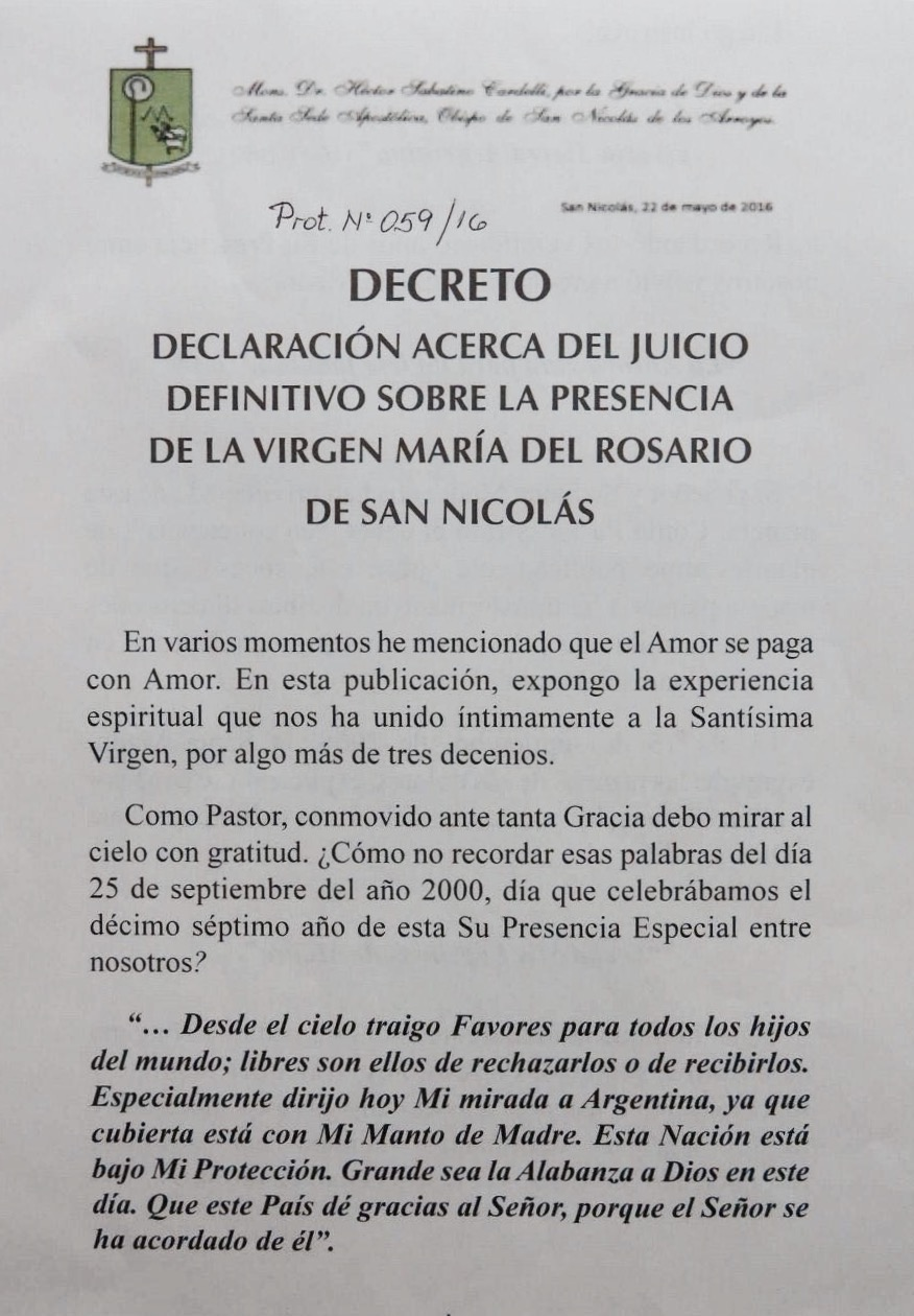 Decreto San Nicolás
