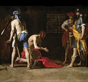 Martirio de Juan el Bautista
