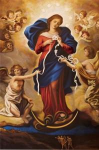 Virgen que desata los nudos