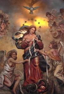 Virgen que desata los nudos 3