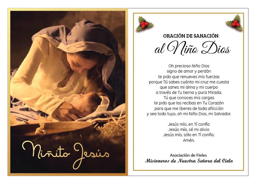 Oración de Sanación al Niño Dios 2016 -  (4)