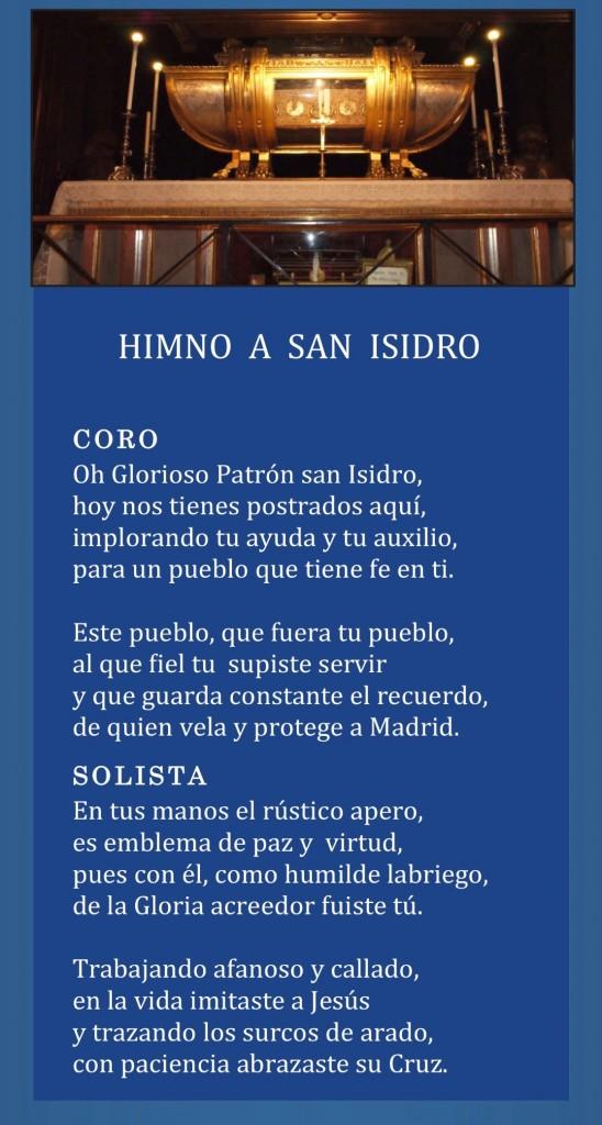 Himno a San Isidro labrador