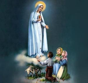 Virgen de Fátima y pastorcitos (ft img)