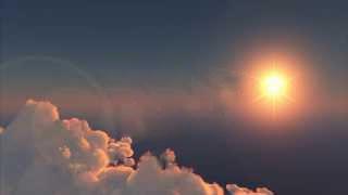 cielo soleado