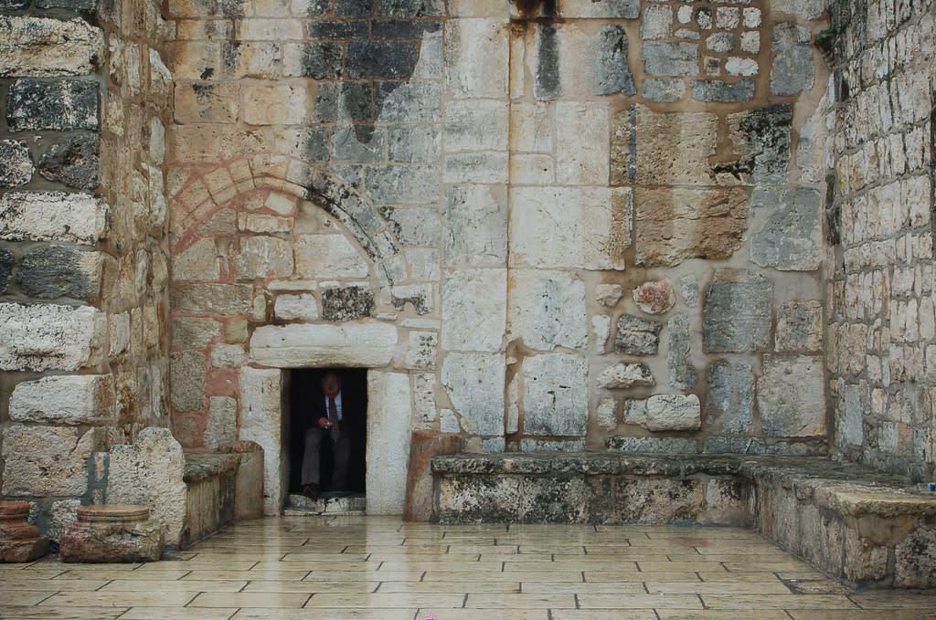 Interior Iglesia en Belén