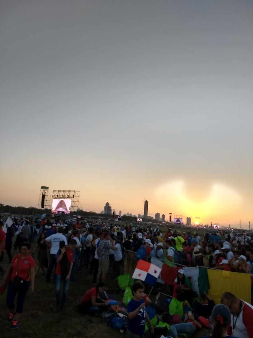 Imagen en el cielo de Panama