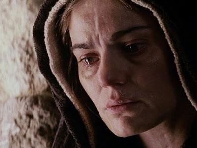 María junto a la cruz