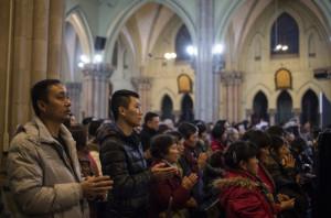 cristianos en china
