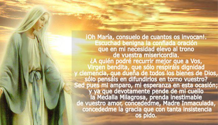 76a3015d65f Virgen de la Medalla Milagrosa – Santa Catalina Laboure