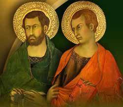 San Simón y San Judas Tadeo apóstoles