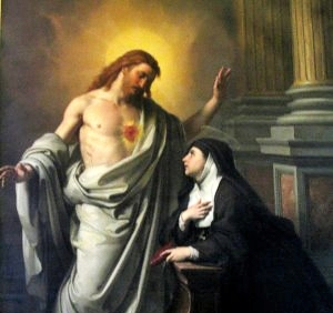 Santa Margarita Maria Alacoque – Sagrado Corazon de Jesus | Reina del Cielo