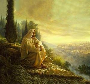 Jesús observando (ft img)