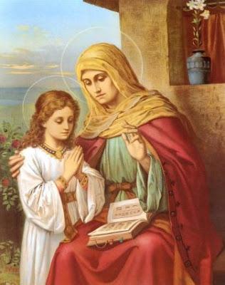 Santa Ana madre de la Virgen