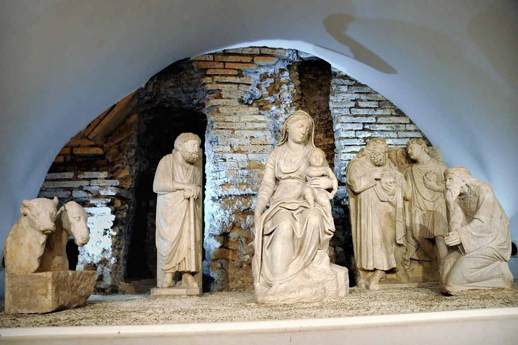 Pesebre cripta