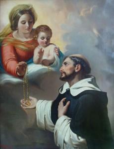Santo Doninto y el rosario