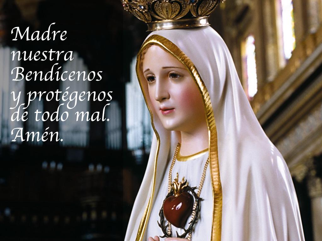 Bendición Virgen de Fátima