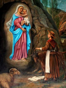 Aparición Virgen de Laus