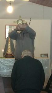 exposición de la Sagrada Forma Milagrosa