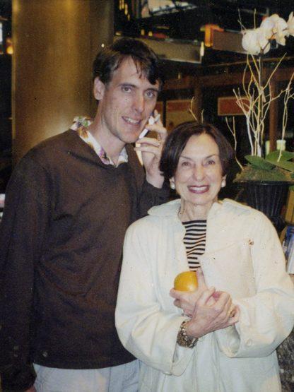 Stephen Edwards y su madre